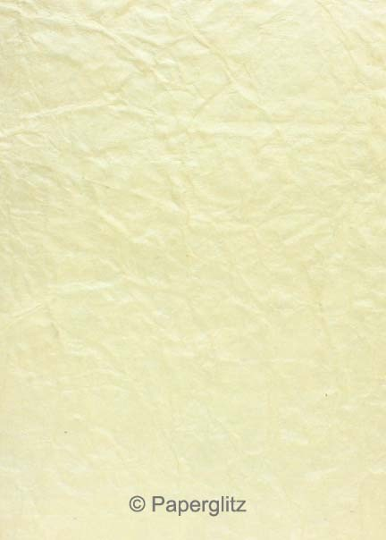 Glamour Pocket DL - Embossed Crinkle Ivory Pearl