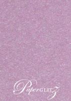 13.85cm Square Flat Card - Stardream Metallic Amethyst