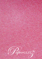 A6 Folio Pocket Fold - Stardream Metallic Azalea