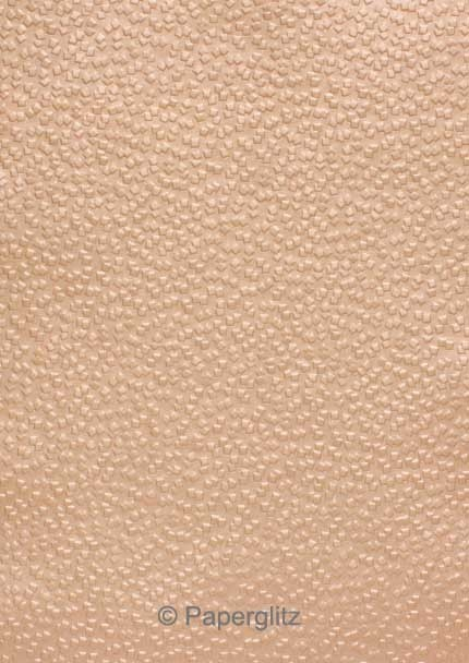Petite Glamour Pocket - Embossed Modena Colonial Rose Pearl