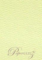 Petite Scored Folding Card 80x135mm - Mohawk Via Felt Cream