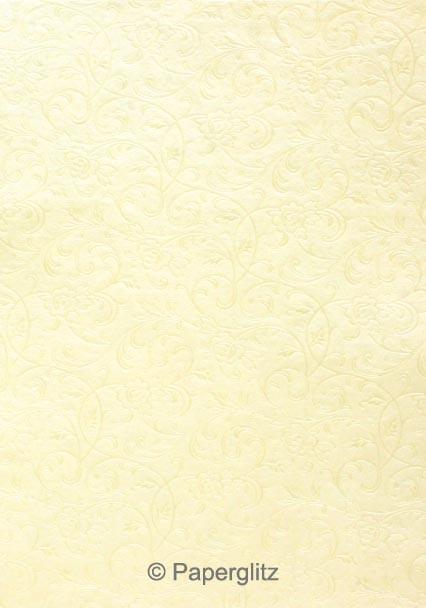 Petite Glamour Pocket - Embossed Olivia Ivory Pearl