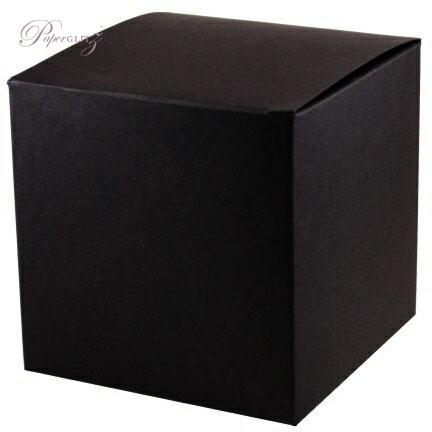 10cm Cube Box - Starblack