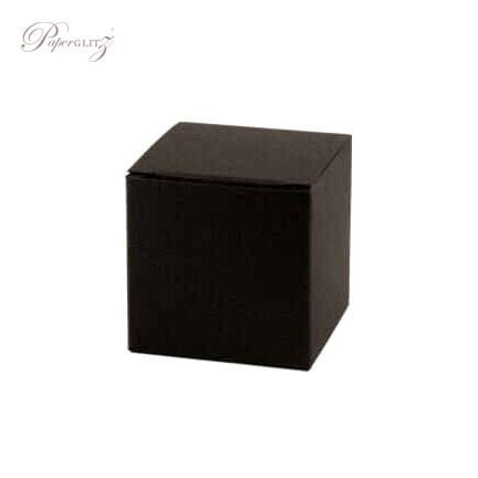 5cm Cube Box - Keaykolour Original Jet Black
