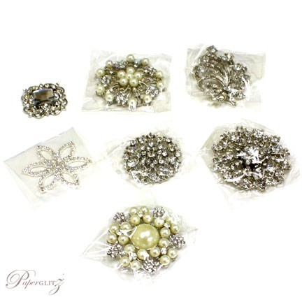 Sample Pack - Brooches
