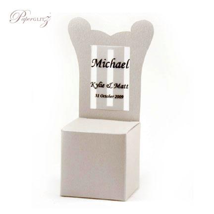 Chair Box - Throne - Curious Metallics Lustre