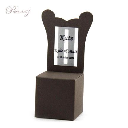 Chair Box - Throne - Urban Brown