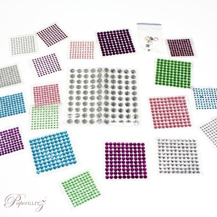 Sample Pack - Diamantes & Pearls