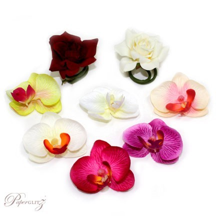 Sample Pack - Artificial Flower Heads