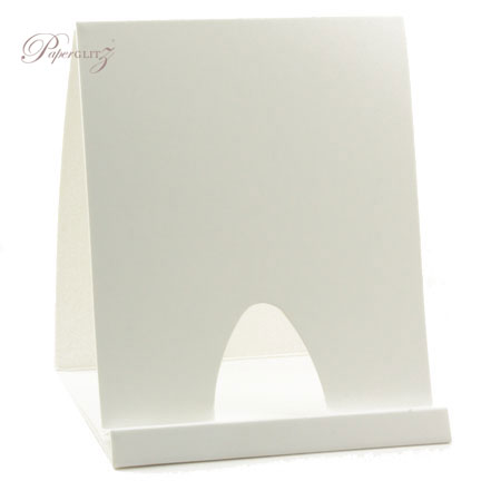 Card Display Stands - Semi-Gloss White