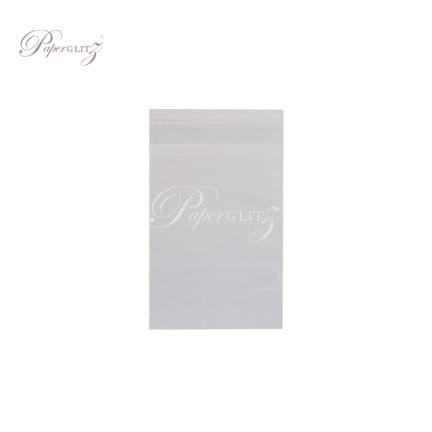 Resealable PP Bags - 10cm x 15.5cm + 38mm Lip