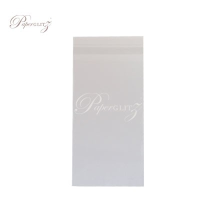 Resealable PP Bags - 11.6x22.7cm + 38mm Lip