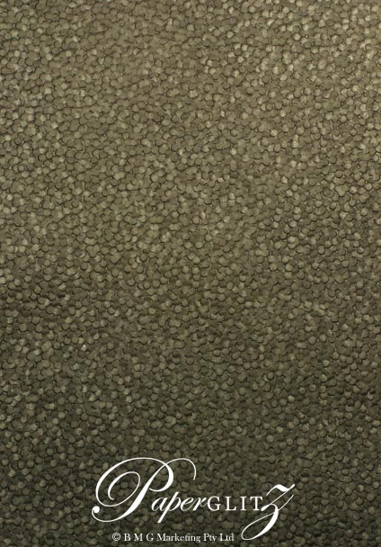 Glamour Pocket 150mm Square - Embossed Pebbles Chocolate Pearl