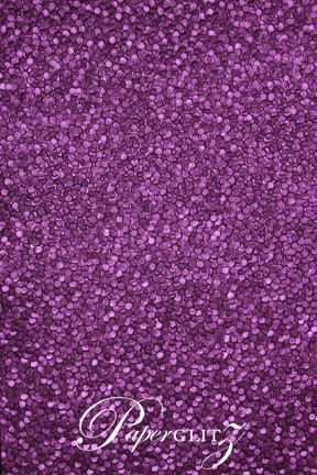 Handmade Embossed Paper - Pebbles Violet Pearl A4 Sheets