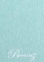 120x175mm Scored Folding Card - Rives Ice Blue