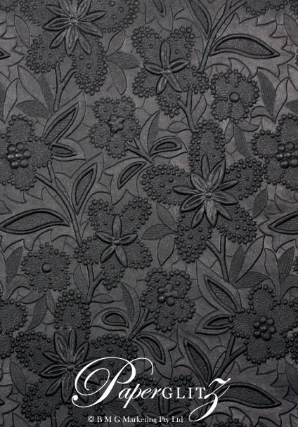 Glamour Add A Pocket V Series 9.6cm - Embossed Spring Black Pearl