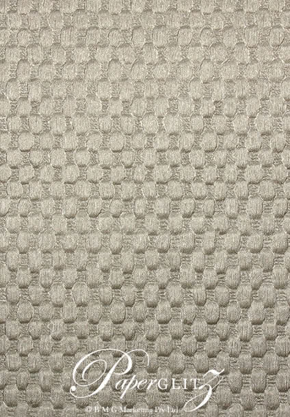 Handmade Embossed Paper - Thunder Pewter Pearl Full Sheet (Special size 66x66cm) - 85 Sheet Special