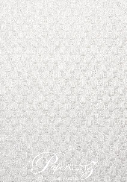Glamour Add A Pocket V Series 9.6cm - Embossed Thunder White Pearl