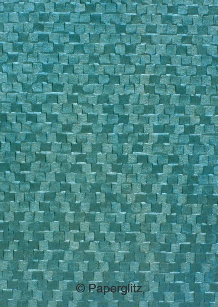 Handmade Embossed Paper - Trident Oceanic Pearl A4 Sheets