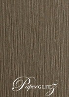 120x175mm Scored Folding Card - Urban Brown Ripple