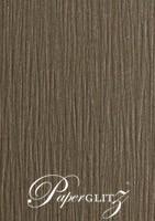 120x175mm Flat Card - Urban Brown Ripple