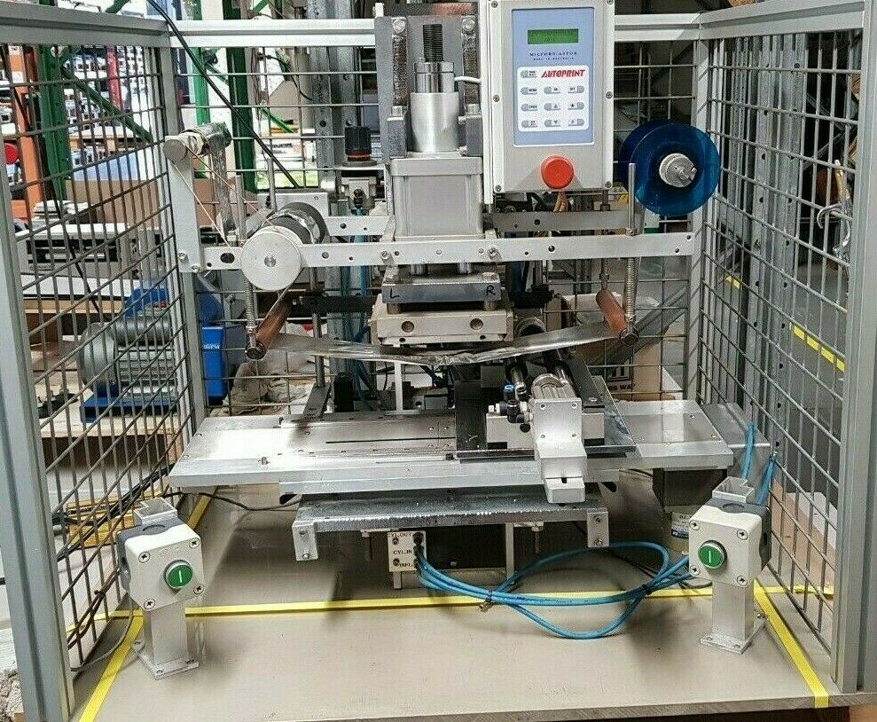 Milford Astor P75 Hot Foil Stamping / Printing Machine