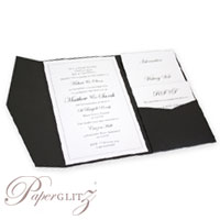 New Paperglitz 120x175mm Pocket Folds - popular for wedding & invitations and made in Australia from local & imported papers!