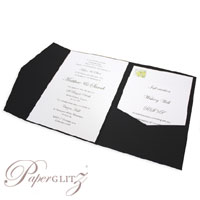 New Paperglitz A5 Pocket Folds - popular for wedding & invitations and made in Australia from local & imported papers!