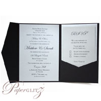 New Paperglitz A6 Pocket Folds - popular for wedding & invitations and made in Australia from local & imported papers!