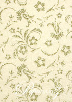 Glamour Add A Pocket 9.9cm - Glitter Print Amelia White Pearl & Silver Glitter