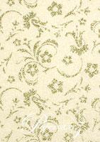 Glamour Pocket DL - Glitter Print Amelia White Pearl & Silver Glitter