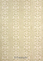 Glamour Add A Pocket 14.85cm - Glitter Print Bliss Ivory Pearl & Gold Glitter