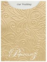 Glamour Pocket C6 - Embossed Elyse Mink Pearl