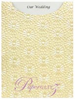 Glamour Pocket C6 - Embossed Eternity Ivory Pearl