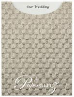 Glamour Pocket C6 - Embossed Thunder Pewter Pearl