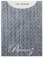 Glamour Pocket C6 - Embossed Wicker Brushed Midnight Pearl
