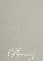 150mm Square Short Side Pocket Fold - Cottonesse Warm Grey 360gsm