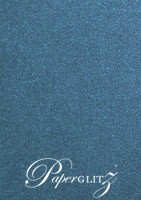 Curious Metallics Blue Print Envelopes - DL