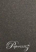DL Voucher Wallet - French Arabesque Curious Metallics Chocolate