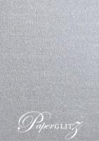 13.85x20cm Flat Card - Curious Metallics Galvanised