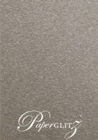 120x175mm Scored Folding Card - Curious Metallics Ionised