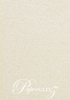 Petite Scored Folding Card 80x135mm - Curious Metallics Lustre