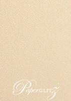 120x175mm Scored Folding Card - Curious Metallics Nude