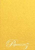 13.85x20cm Flat Card - Curious Metallics Super Gold