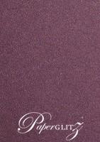 120x175mm Scored Folding Card - Curious Metallics Violet