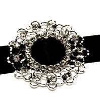 Diamante Buckle - Weave - 10 Pack