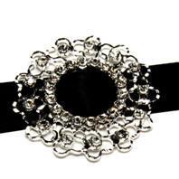 Diamante Buckle - Weave