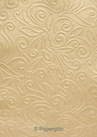 Glamour Pocket 150mm Square - Embossed Elyse Mink Pearl