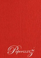 DL Tear Off RSVP Card - Keaykolour Original Guardsman Red