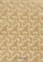Handmade Embossed Paper - Majestic Swirl Mink Pearl A4 Sheets